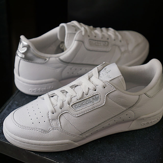 Adidas originals adidas Originals Continental eighty women CONTINENTAL 80s W Lady's sneakers shoes R white ??????? (EE8925 SS19)