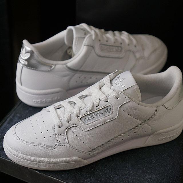 【即納】アディダス オリジナルス adidas Originals コンチネンタル エイティーズ ウィメンズ CONTINENTAL 80s W レディース スニーカー 靴 Rホワイト/シルバーメット (EE8925 SS19)