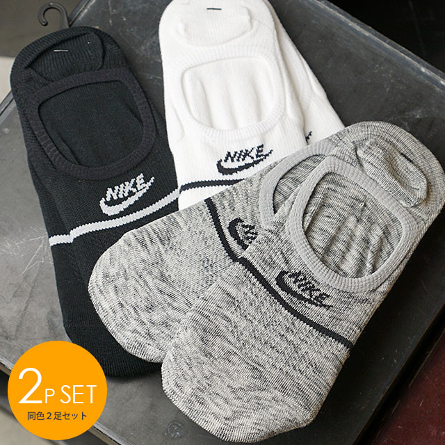 Nike Nike Men Gap Dis 2p Sneakers Essential No Show Socks Ankle Socks Sports Socks Sx7168 Ss19
