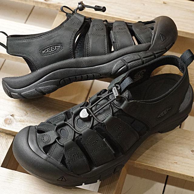 【即納】キーン KEEN メンズ ニューポート MEN NEWPORT サンダル 靴 Black/Black (1020284 SS19)