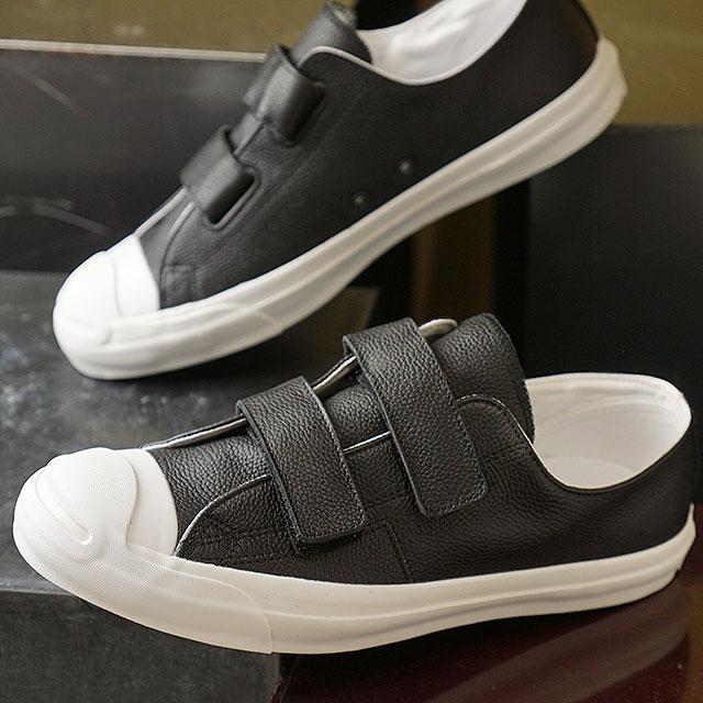 コンバース CONVERSE ジャックパーセル V-2 SRK レザー RH JACK PURCELL V-2 SRK LEATHER RH メンズ スニーカー 靴 ブラック (32243591 SS19)【ts】【e】