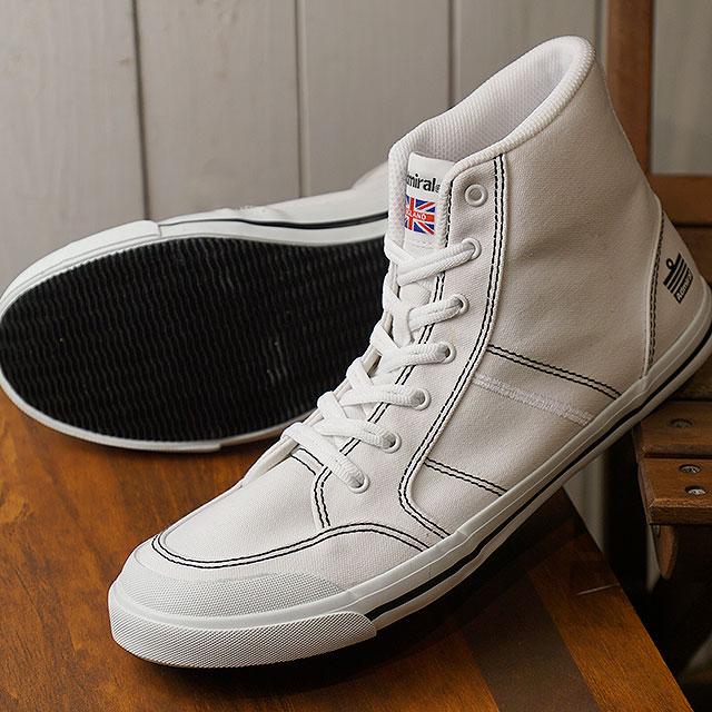 アドミラル Admiral イノマー ハイ INOMER HI メンズ・レディース スニーカー カジュアル 靴 White/White/Black (SJAD1511-010102 SS19)【ts】【e】