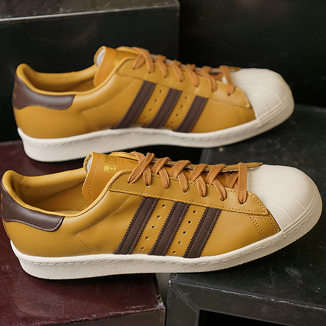 Adidas superstar ii classic white black gold on behalf of
