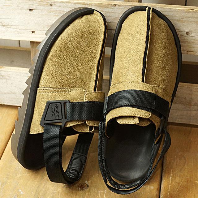 【即納】リーボック クラシック Reebok CLASSIC ビートニック シェルパ BEATNIC SHERPA メンズ スニーカー サンダル 靴 TWEED BROWN/BLACK ベージュ系 (DV7340 SS19)