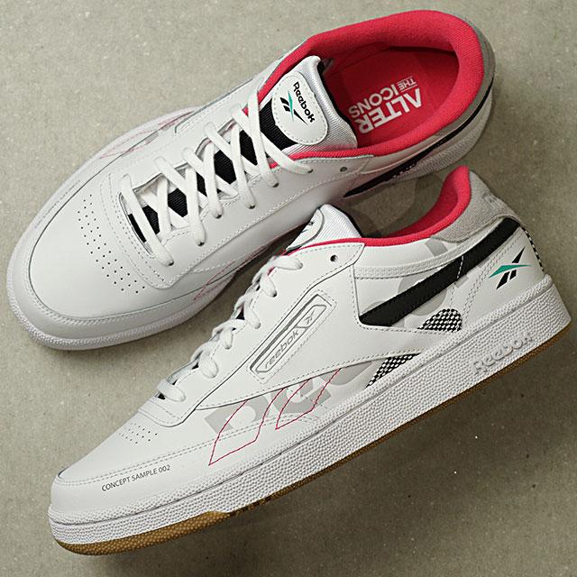 【即納】リーボック クラシック Reebok CLASSIC クラブ85 オルターザアイコン CLUB C 85 ATI メンズ スニーカー 靴 WHITE/TEAL/BLUCK ホワイト系 (DV8962 SS19)