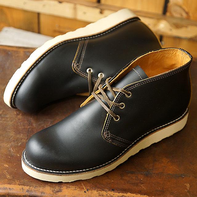 レッドウィング シューズ RED WING 9852 アイリッシュセッター・チャッカ IRISH SETTER CHUKKA メンズ レディース REDWING SHOSE ブーツ 靴 BLACK KLONDIKE ブラック系 (9852 SS19)