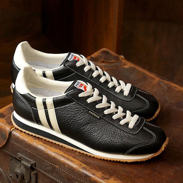 【月間優良ショップ】【ノベルティプレゼント】【返品送料無料】パトリック PATRICK スニーカー NEVADA ネバダ メンズ・レディース 日本製 靴 BLACK ブラック 黒 (17511)