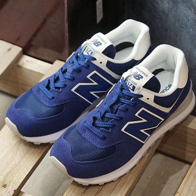 ニューバランス newbalance レディース WL574 Bワイズ スニーカー 靴 BLUE ブルー系 (WL574WEA FW19)【ts】【e】