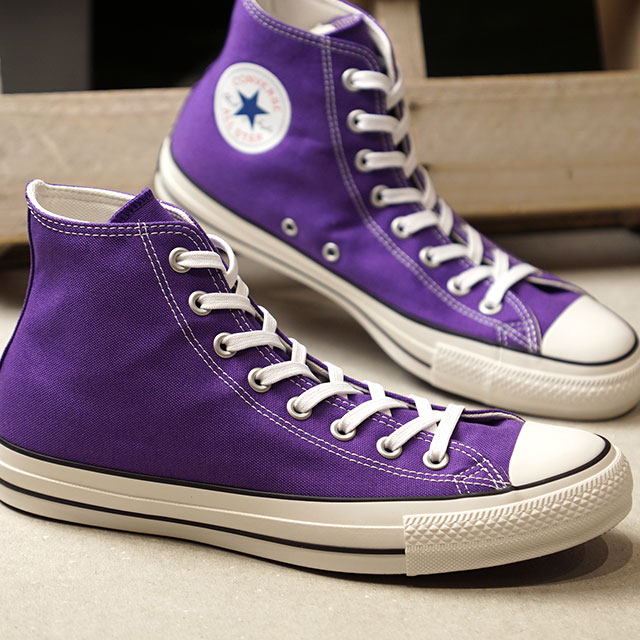 Converse CONVERSE all stars 100 colors higher frequency elimination ALL STAR 100 COLORS HI (ROYAL PURPLE purple system) (31300331 FW19)