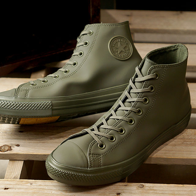 Converse CONVERSE all stars light WR SL higher frequency elimination ALL STAR LIGHT WR SL HI men gap Dis water repellent processing (KHAKI khaki