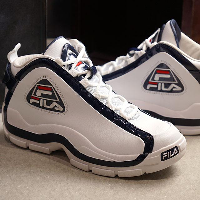 Fila FILA men Grant Hill 2 GRANT HILL 2 sneakers shoes white F navy F red white system (F0313 0125 FW19)