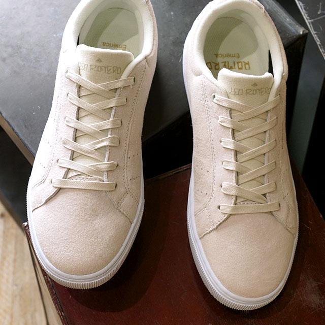 エメリカ Emerica ロメロ アメリカーナ ROMERO AMERICANA LEO VTG メンズ・レディース スケートシューズ スニーカー 靴 WHITE/WHITE ホワイト系 (FW19)【ts】【e】