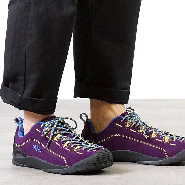 キーン KEEN メンズ ジャスパー M JASPER アウトドア スニーカー 靴 Shadow Purple/Lemon Chrome パープル系 (1021884 FW19)【ts】【e】