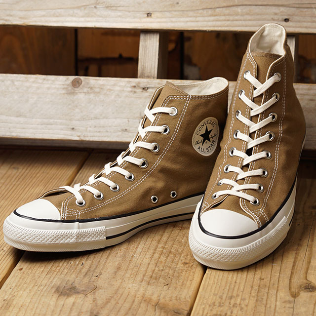 Converse CONVERSE all stars food textile higher frequency elimination ALL STAR FOOD TEXTILE HI (DRIPCOFFEE beige system) (31300500 FW19)
