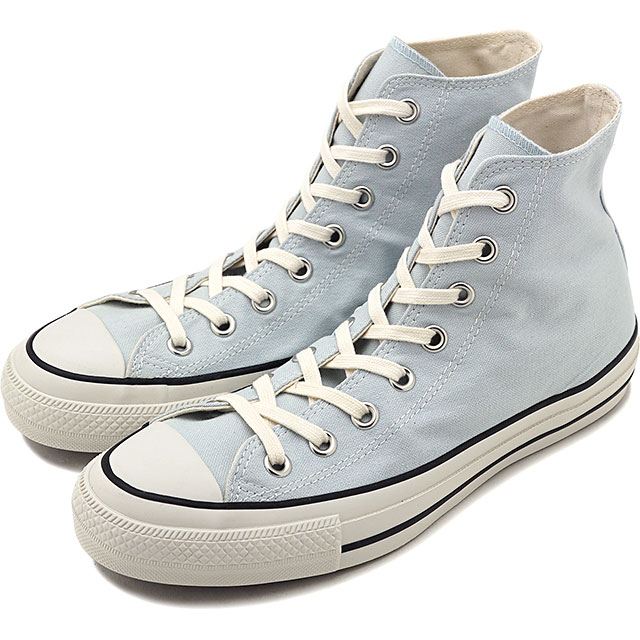 Converse CONVERSE all stars food textile higher frequency elimination ALL STAR FOOD TEXTILE HI (BLUEMALLOW blue system) (31300502 FW19)