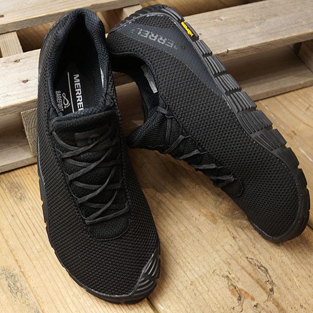 【月間優良ショップ】メレル MERRELL メンズ ムーブ グローブ M MOVE GLOVE シム フィットネスシューズ スニーカー 靴 BLACK ブラック系 (J16737 FW19)