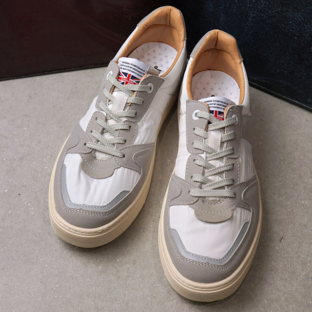 アドミラル Admiral ハンソン HANSON メンズ レディース スニーカー 靴 White ホワイト系 (SJAD1912-01 FW19)【ts】