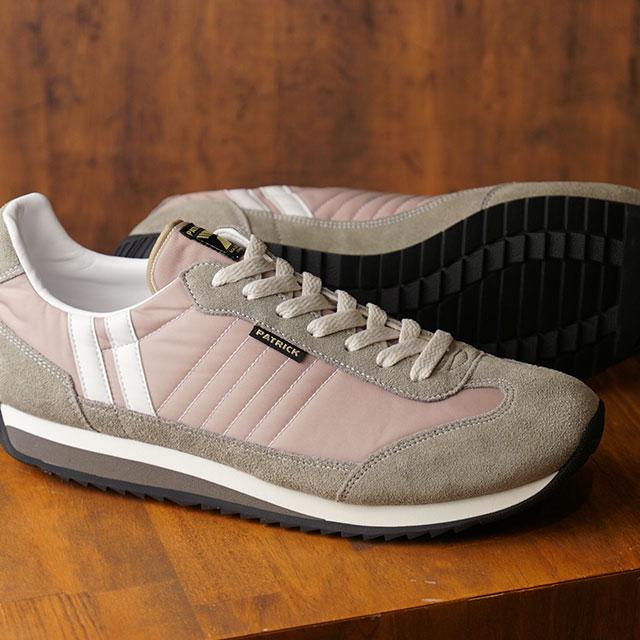 【あす楽対応】【返品送料無料】パトリック PATRICK スニーカー マラソン MARATHON メンズ レディース 日本製 靴 GOBOU ベージュ系 (94963 FW19)