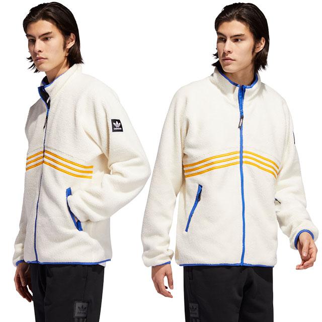アディダス スケートボディング adidas Originals メンズ フリースジャケット シェルパ フルジップ SHERPA FULL ZIP アディダスオリジナルス ベージュ系 (GEO90/EE0309 FW19Q4)【ts】【e】