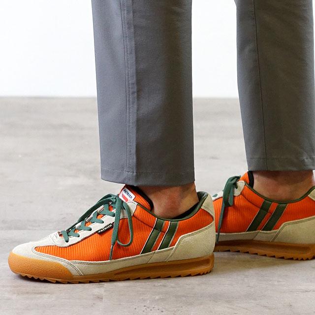 【返品送料無料】【ノベルティプレゼント】PATRICK パトリック スニーカー BRONX ブロンクス メンズ・レディース 日本製 靴 ORG オレンジ (0065-J)