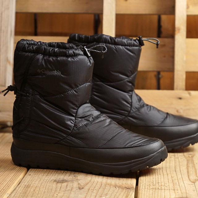 コロンビア Columbia スピンリールブーツ アドバンス ウォータープルーフ オムニヒート SPINREEL BOOT ADV WP OMNI-HEAT スノー ウィンターブーツ 靴 Black ブラック系 (YU0274-010 FW19)【ts】【e】