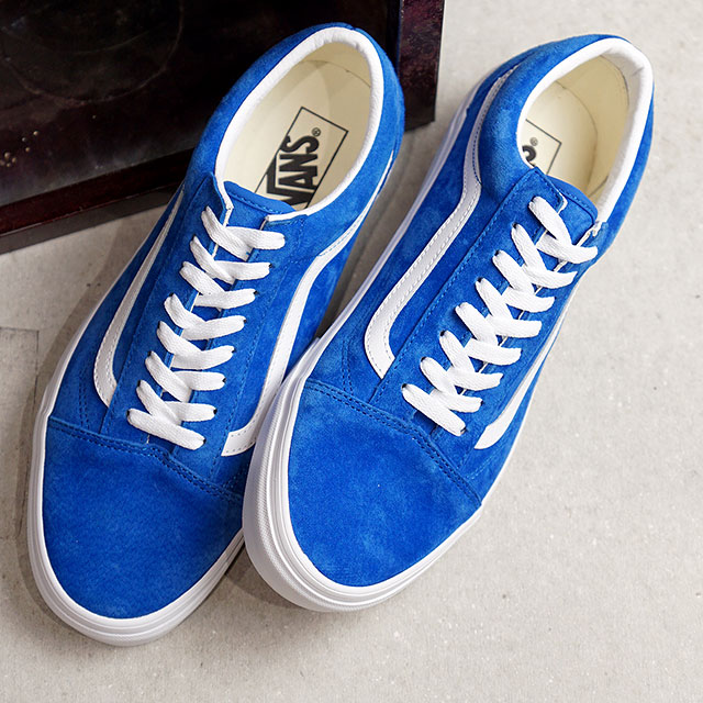 Vans VANS old school PIIGS aide OLD SKOOL PIG SUEDE men Lady's station wagons sneakers shoes PRINCESS BLUE blue system (VN0A4BV5V78 FW19)