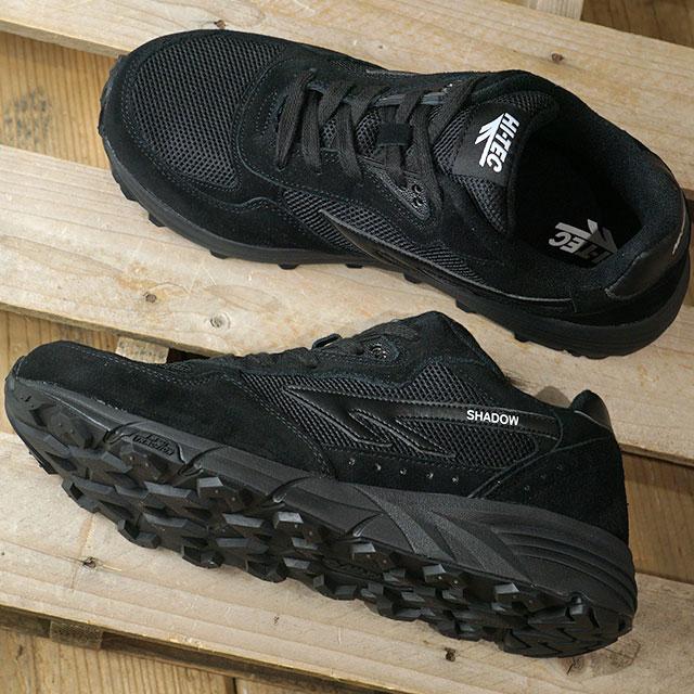 【限定モデル】ハイテック スポーツウェア HI-TEC SPORTSWEAR メンズ シャドー TL SHADOW TL スニーカー 靴 黒/白い ブラック系 (S010005-021 FW19)