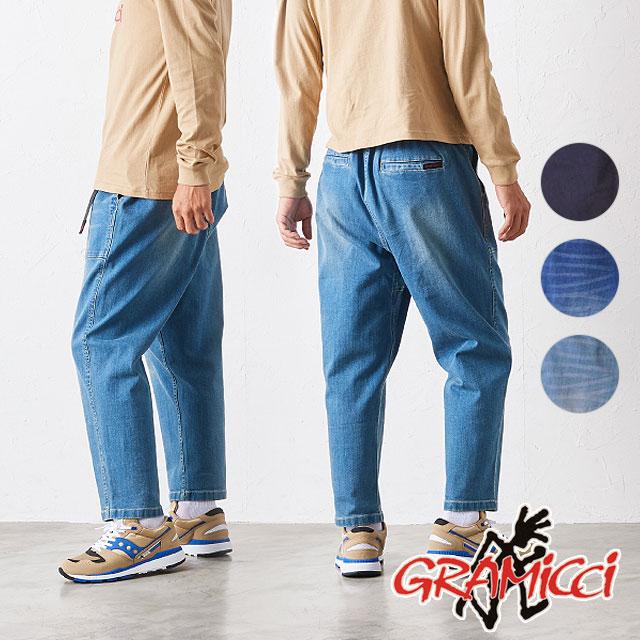【月間優良ショップ】グラミチ GRAMICCI メンズ デニム ルーズ テーパード パンツ DENIM LOOSE TAPERED PANTS (GUP-19F005 FW19)