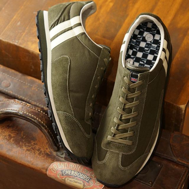 【月間優良ショップ】【あす楽対応】【返品送料無料】パトリック PATRICK スニーカー ボストン・ワックス BOSTON-WX メンズ・レディース 日本製 靴 KKI カーキ系 (501518 FW19)