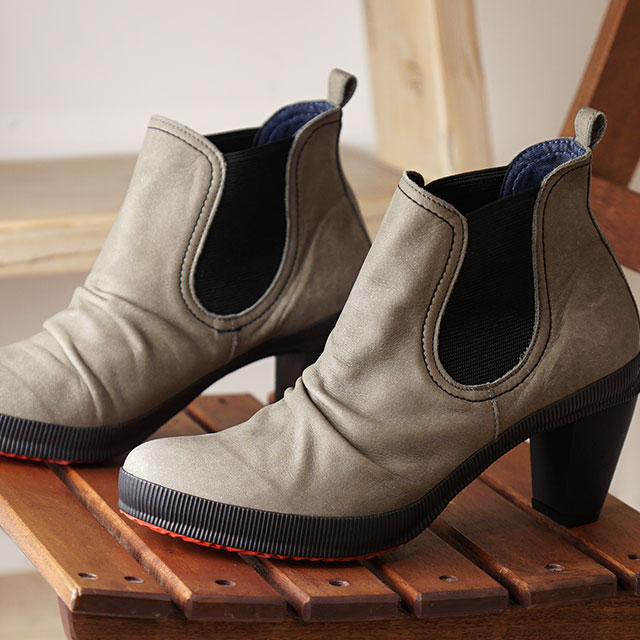 【あす楽対応】【返品送料無料】スピングル ニーマ SPINGLE nima サイドゴア ショートブーツ ドリス DORIS NIMA-706 レディース SPINGLE MOVE スピングルムーブ 日本製 靴 GRAY グレー系 (NIMA706-07 FW19)