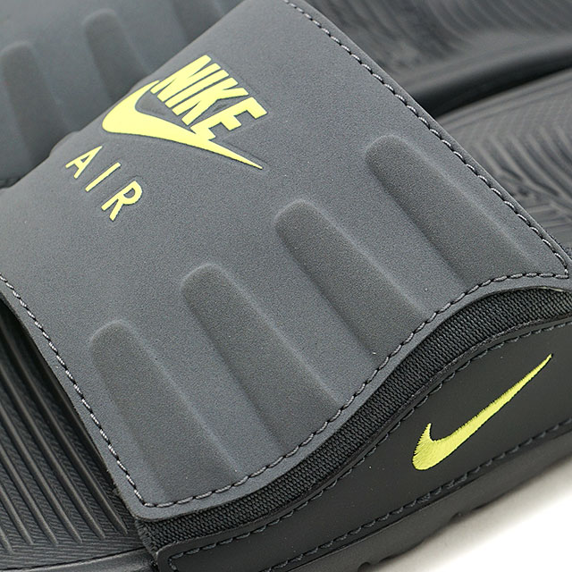 Nike NIKE men sandals Air Max Camden slide AIR MAX CAMDEN SLIDE アンスラサイト bolt gray system (BQ4626 001 HO19)