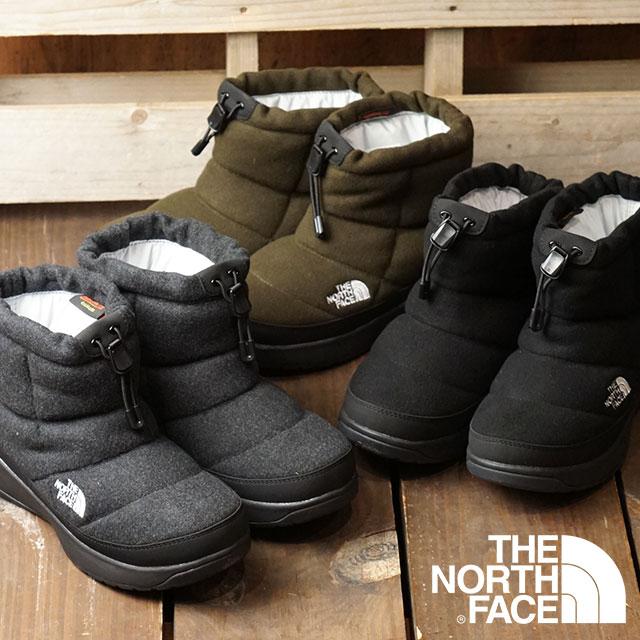 ノースフェイス THE NORTH FACE レディース TNF ヌプシ ブーティー ウール 5 ショート W Nuptse Bootie Wool V Short ウィンターブーツ スノーブーツ 撥水 防寒靴 (NFW51979 FW19)