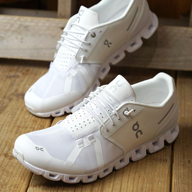 【サイズ交換無料】On オン スニーカー クラウド M Cloud (19.0004 FW19) メンズ ランニングシューズ 靴 オールホワイト ホワイト系