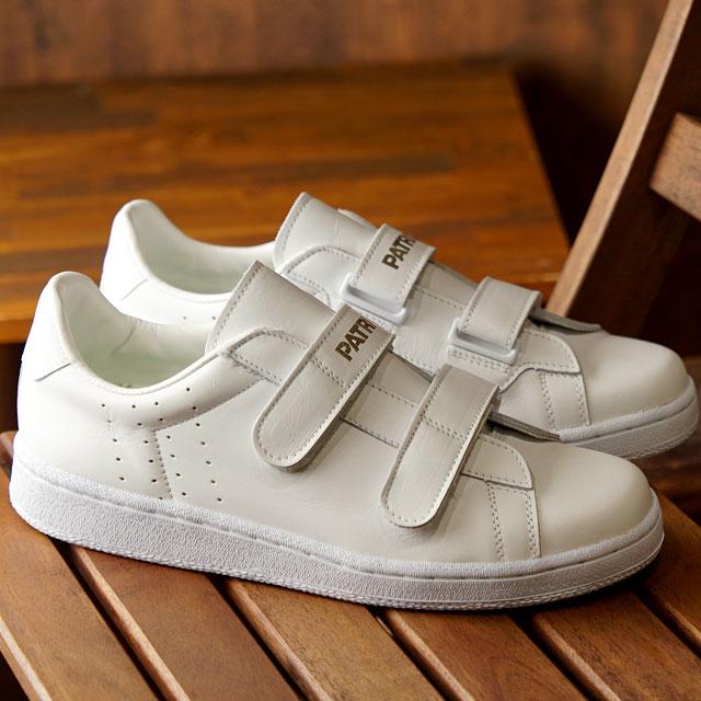 【月間優良ショップ】【ノベルティプレゼント】【返品送料無料】パトリック PATRICK スニーカー OCEAN オーシャン メンズ・レディース 日本製 靴 WHITE ホワイト (9540)