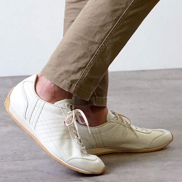 【月間優良ショップ】【ノベルティプレゼント】【返品送料無料】PATRICK パトリック スニーカー PAMIR パミール メンズ・レディース 日本製 靴 ECR エクル (27563)