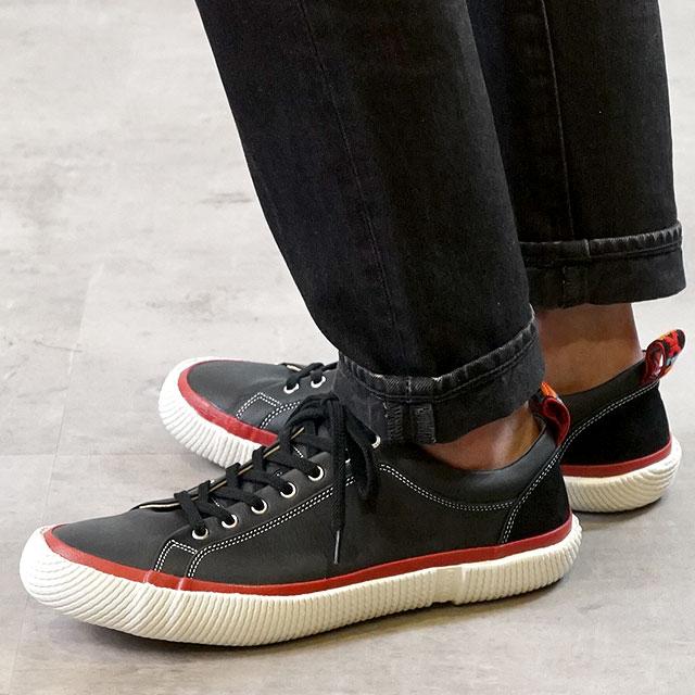 【あす楽対応】【返品送料無料】スピングルムーブ レザースニーカー 靴 SPINGLE MOVE SPM-253 Black スピングル ムーヴ (SPM253-05 FW16)【コンビニ受取対応商品】