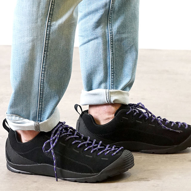 【月間優良ショップ】【サイズ交換無料】KEEN キーン スニーカー 靴 メンズ MENS Jasper ジャスパー Black/Black (1017349 FW17)【コンビニ受取対応商品】