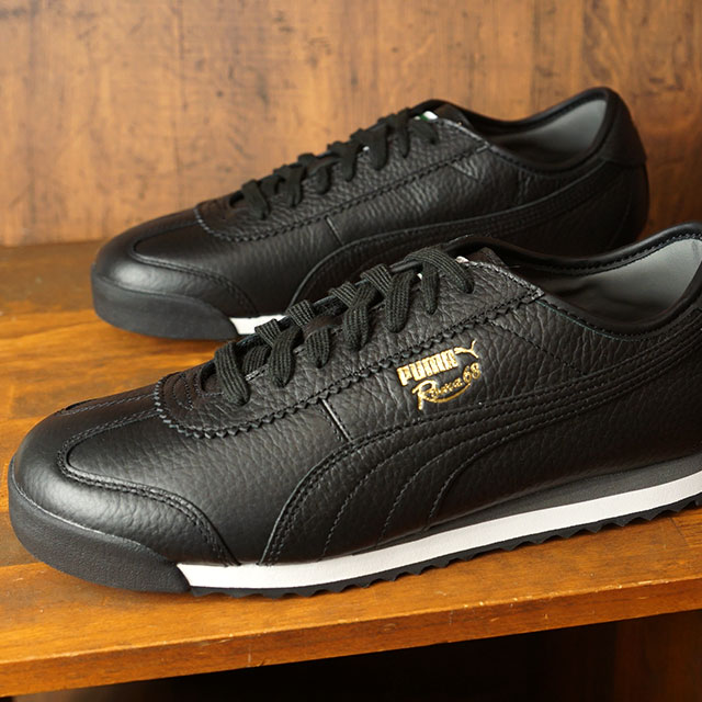 Puma PUMA 68, Rome vintage ROMA 68 VINTAGE men Lady's sneakers shoes Puma black black system (370,051 04 HO19)