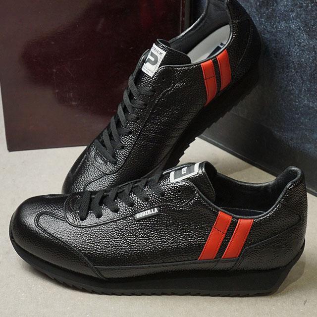 【あす楽対応】【返品送料無料】パトリック PATRICK スニーカー ゴジラ・マラソン GODZILLA-M メンズ・レディース 日本製 靴 BLK ブラック系 (719501 FW19)