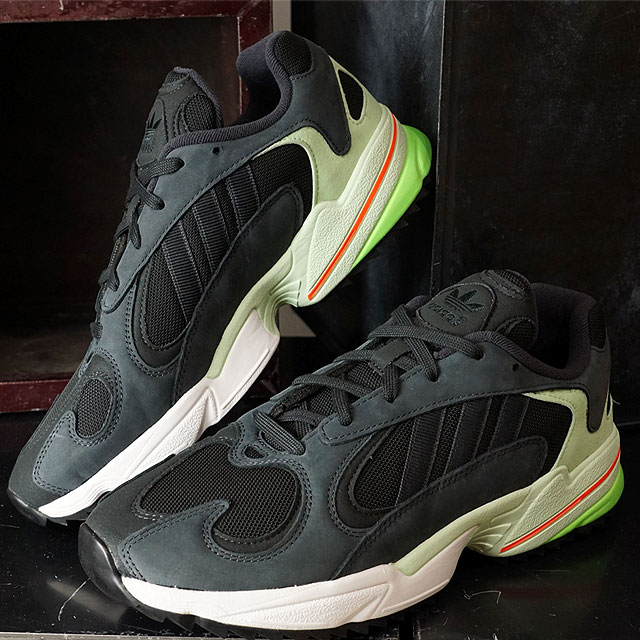 Adidas originals adidas sneakers young people 1 trail YUNG 1 TRAIL men Lady's carbon S18 core black black system (EE6538 FW19Q4)