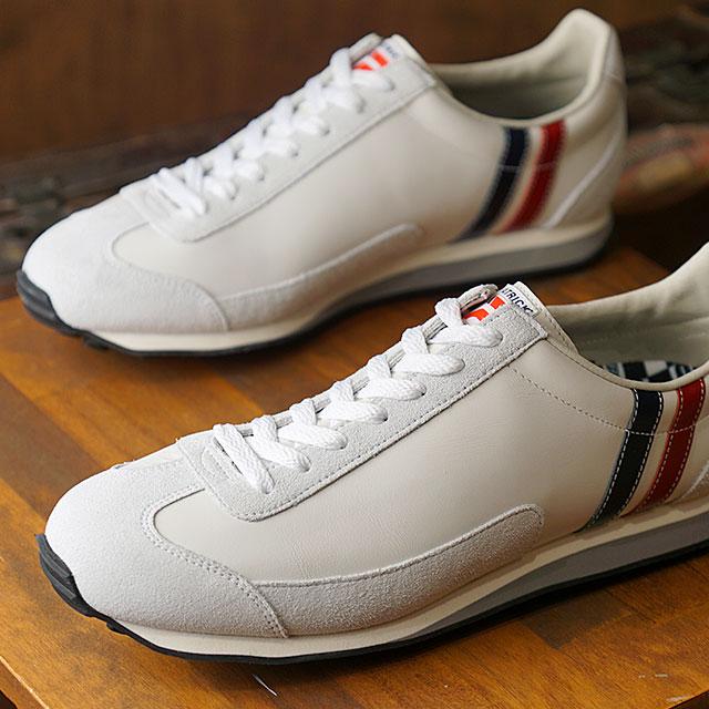 【月間優良ショップ】【あす楽対応】【返品送料無料】パトリック PATRICK スニーカー ボストン・レザー2 BOSTON-L II メンズ・レディース 日本製 靴 TRC ホワイト系 (528190 FW19Q4)