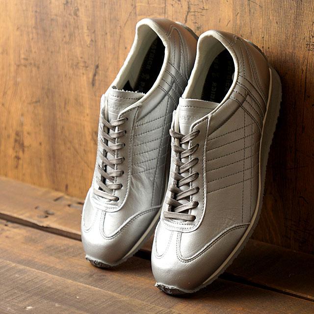 【月間優良ショップ】【あす楽対応】【返品送料無料】パトリック PATRICK スニーカー パミール・ウォータープルーフ PAMIR-WP メンズ・レディース 日本製 靴 SLV シルバー系 (530174 FW19Q4)