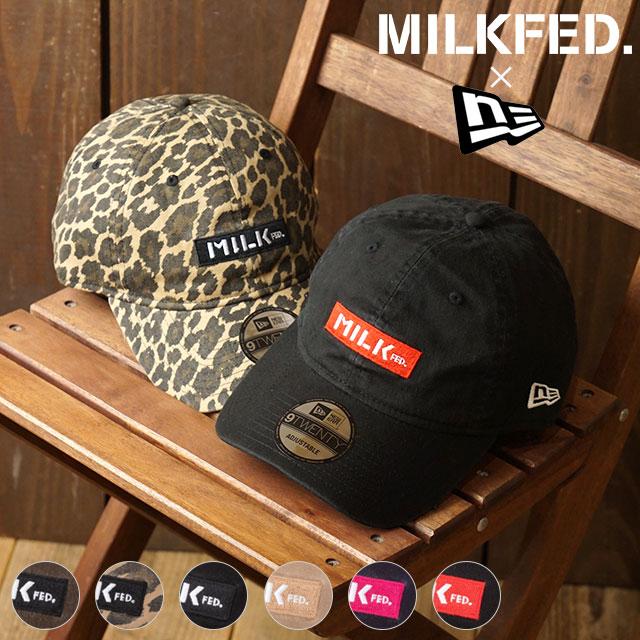 ミルクフェド MILKFED. 帽子 ニューエラ バー キャップ MILKFED. × NEWERA BAR CAP メンズ・レディース フリーサイズ (3193083 FW19)【ts】
