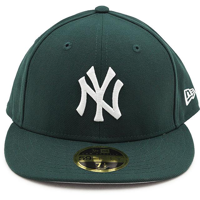 安心のニューエラ国内正規取扱店 サイズ交換片道無料 国内正規品 NEWERA 帽子 CAP MLB メージャーリーグベースボール ニューエラ 12884763 ダークグリーン メンズ 未使用 ニューヨーク NEYYAN LP59FIFTY FW21 安全 レディース ヤンキース