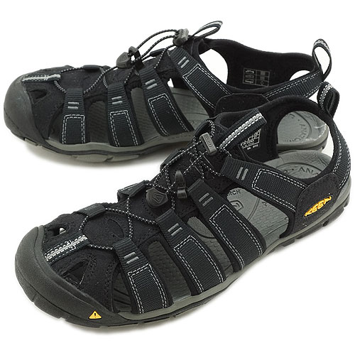 KEEN Clearwater CNX キーン クリアウォーター CNX MNS スポーツサンダル 靴 Black/Gargoyle(1008660 SS13)【コンビニ受取対応商品】
