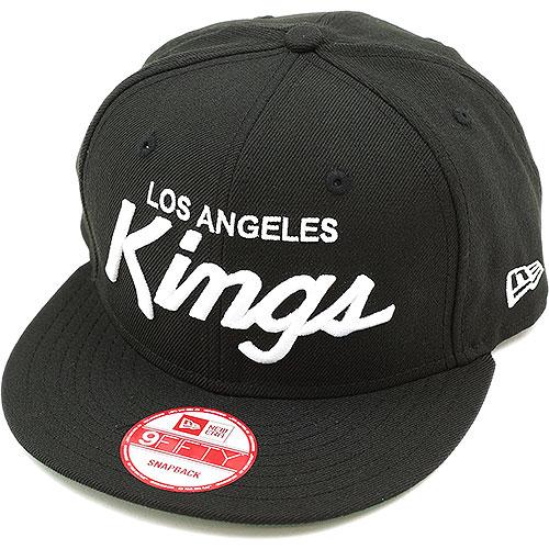 a5c483bb2ac NEWERA new era Cap 9 FIFTY nine fifty Los Angeles Kings black   white  (N0016279 11120917) (NEW ERA)