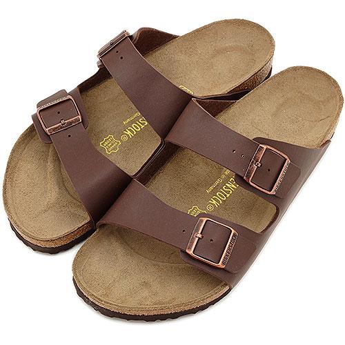 ビルケンシュトック アリゾナ レディース メンズ サンダル 靴 ダークブラウン BIRKENSTOCK ARIZONA (051703/051701)【ts】【e】