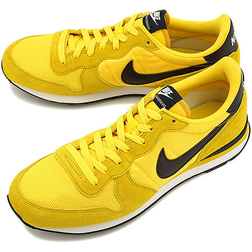 nike internationalist yellow black