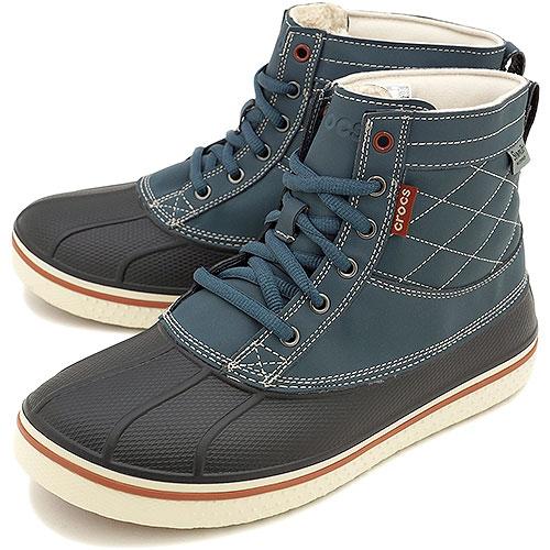 9a8c5bb54b224 Crocs Clocks Men Allcast Waterproof Duck Boot Oar Cast Boots Nightfall 16233  0m7 Fw14