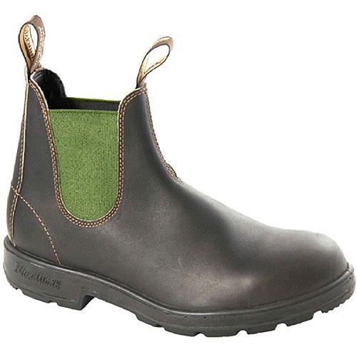 Blundstone ブランドストーン サイドゴアブーツ BS519 スムースレザー ダークグリーン靴 (BS519408)【コンビニ受取対応商品】